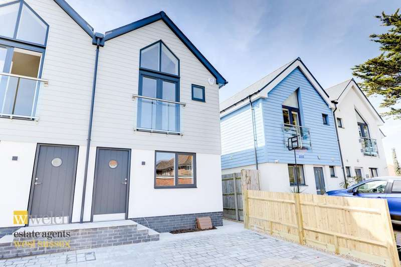 3 Bedrooms Semi Detached House for sale in Eirene Avenue, Goring By Sea, West Sussex, BN12 4DL