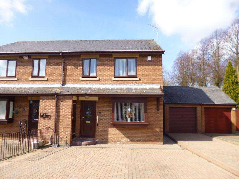 3 Bedrooms Semi Detached House for sale in Wesley Grove, Bishop Auckland