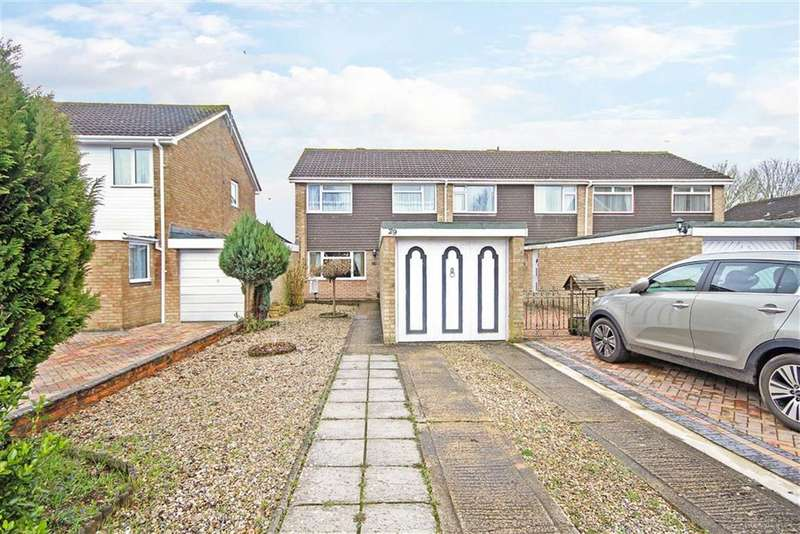 3 Bedrooms End Of Terrace House for sale in Conway Road, Eldene, Wiltshire