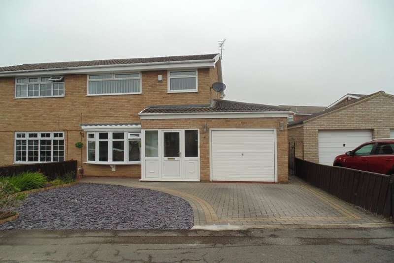 3 Bedrooms Semi Detached House for rent in Hayling Way, Stockton-On-Tees, TS18