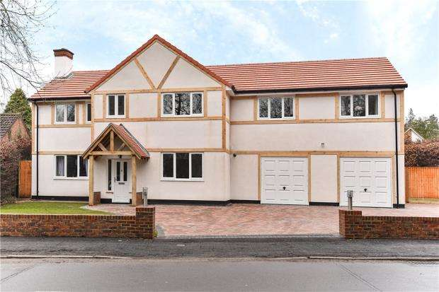 5 Bedrooms Detached House for sale in Lime Avenue, Camberley, Surrey