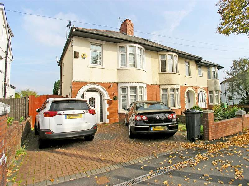 3 Bedrooms Semi Detached House for sale in Manor Way, Cardiff