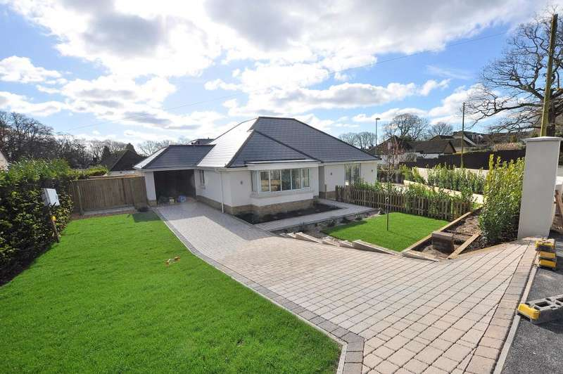 3 Bedrooms Detached Bungalow for sale in Gallows Drive, West Parley