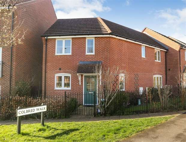 3 Bedrooms Semi Detached House for sale in Jacob Close, Andover, Hampshire