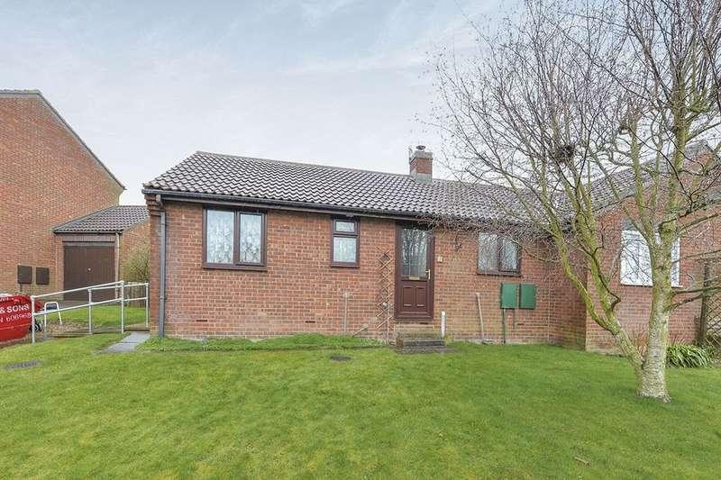 2 Bedrooms Semi Detached Bungalow for sale in Hamerton Close, Hunmanby, Filey, YO14