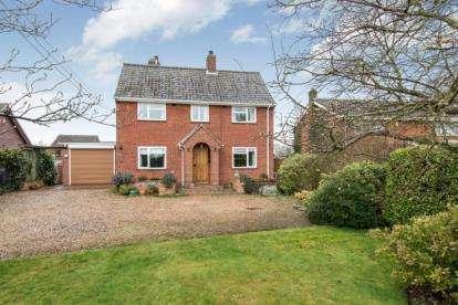 3 Bedrooms Detached House for sale in Little Plumstead, Norwich, Norfolk
