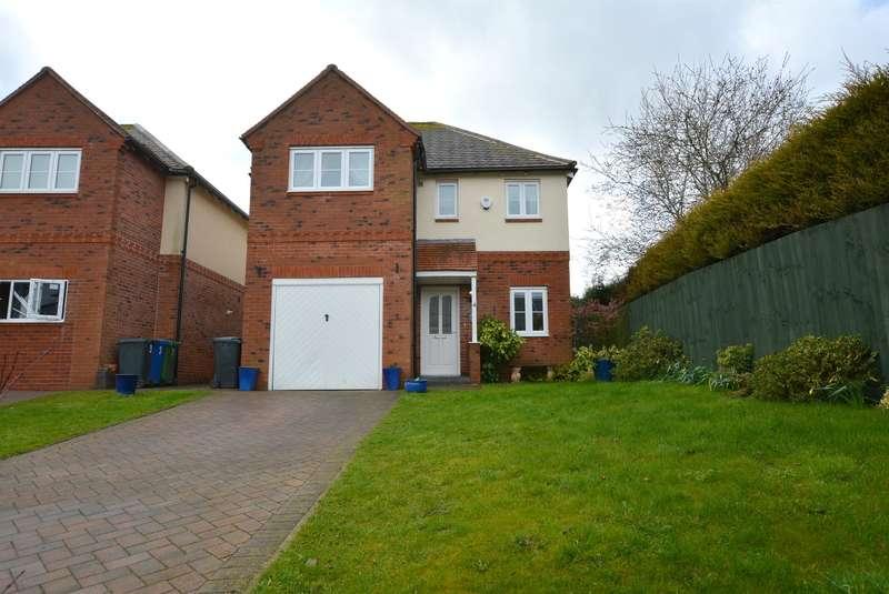 4 Bedrooms Detached House for sale in Alder Gardens, Hollingwood, Chesterfield, S43 2JU