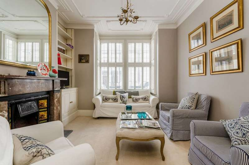 1 Bedroom Flat for sale in Harbledown Road, Parsons Green, SW6