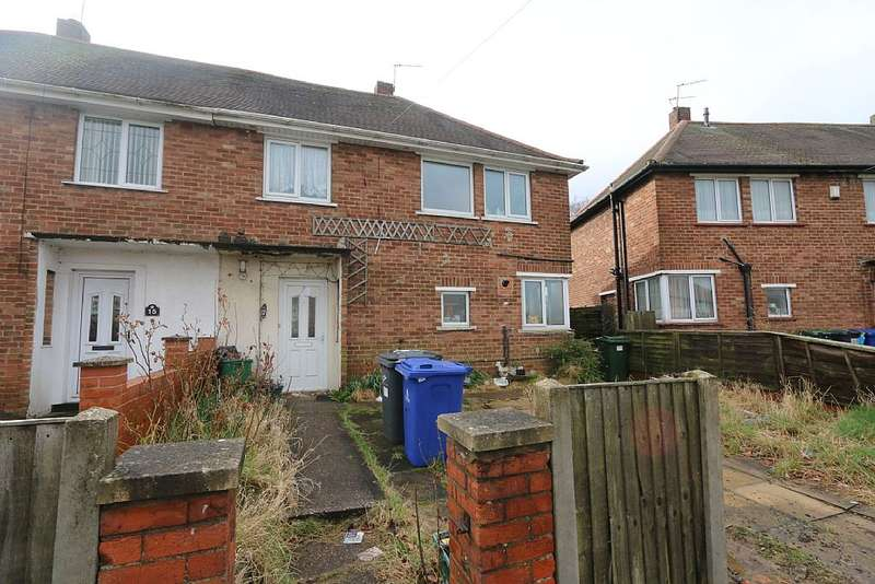 3 Bedrooms Semi Detached House for sale in Chalmers Drive, Doncaster, South Yorkshire, DN2 4RU