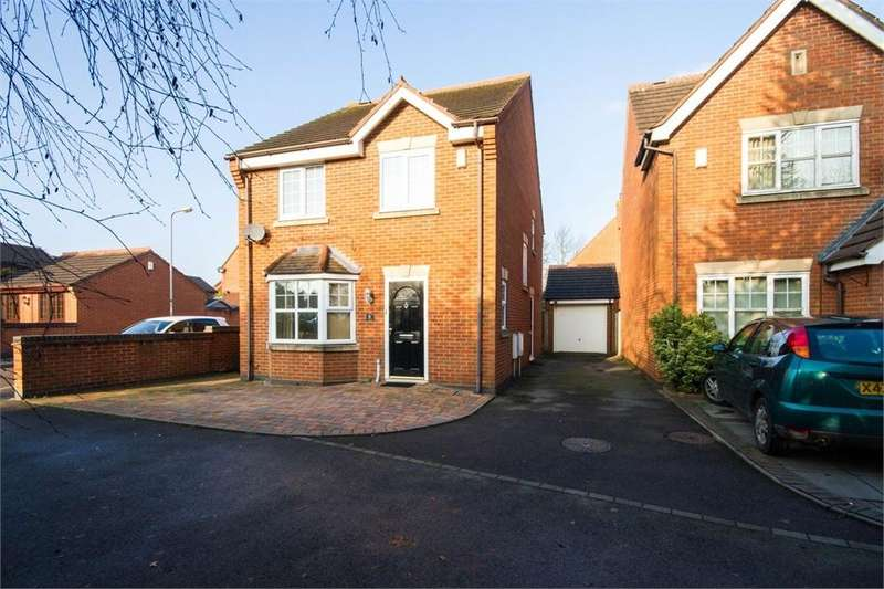 3 Bedrooms Detached House for sale in The Garlands, Wednesfield, WOLVERHAMPTON, West Midlands