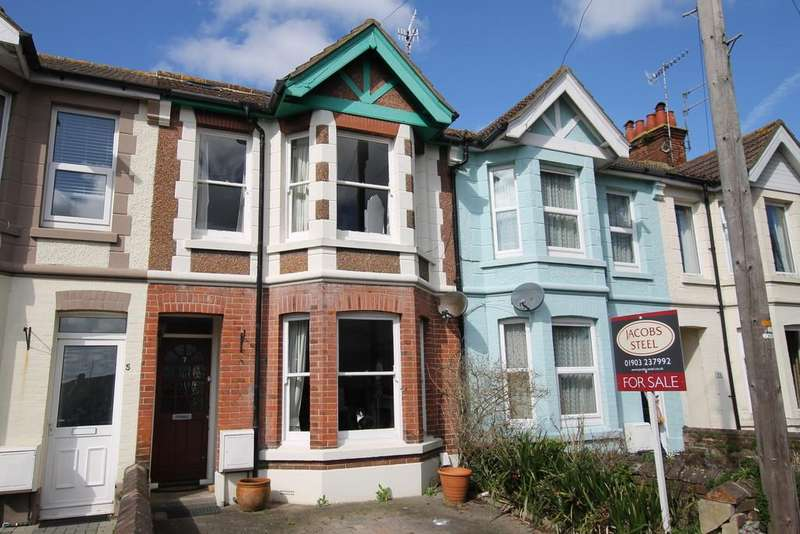 4 Bedrooms Terraced House for sale in Wigmore Road, Worthing BN14 9HH