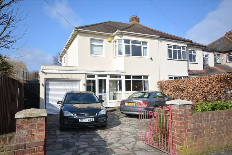 3 Bedrooms Semi Detached House for sale in Mill Park Avenue, Hornchurch RM12
