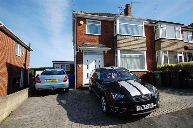 3 Bedrooms Semi Detached House for sale in Westbourne Avenue, Garforth, Leeds, LS25