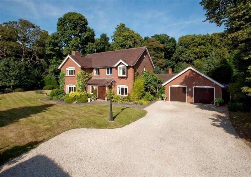 5 Bedrooms Detached House for sale in Linden House, Long Lane, Neachley, Shifnal, Shropshire, TF11