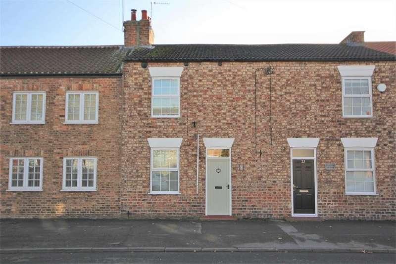 2 Bedrooms Terraced House for sale in York Street, Dunnington YO19