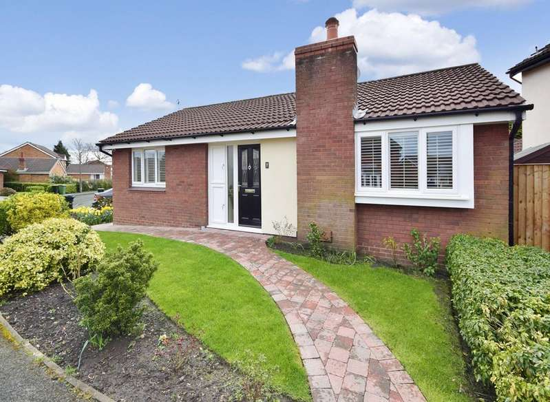 2 Bedrooms Detached Bungalow for sale in Bladen Close, Cheadle Hulme