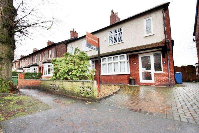 4 Bedrooms Semi Detached House for sale in Urban Road, Sale, M33 7TU