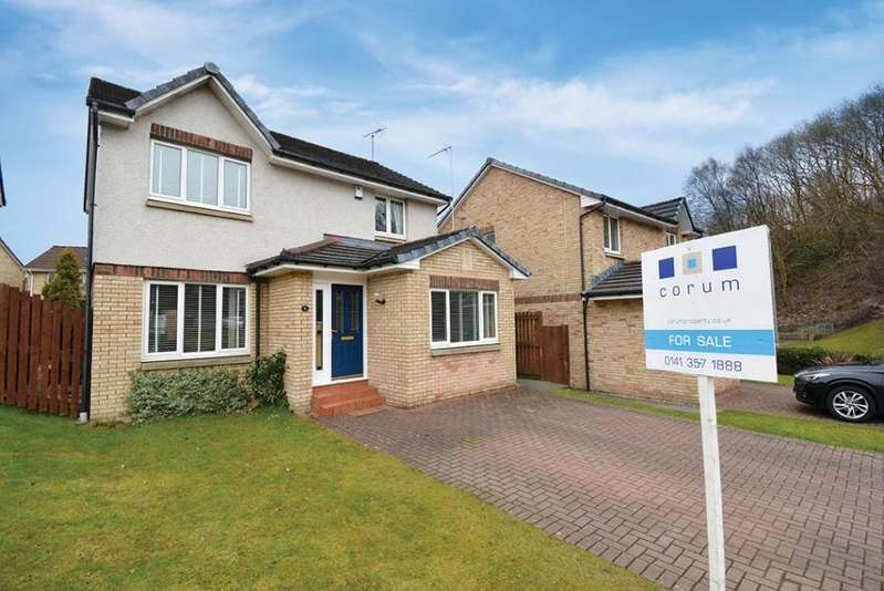 3 Bedrooms Detached House for sale in 4 Fearnach Place, Kelvindale, G20 0TX