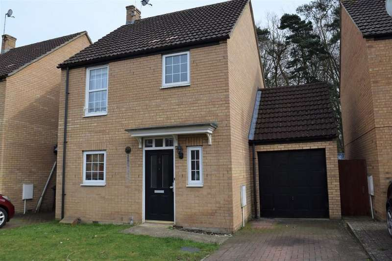 3 Bedrooms Link Detached House for sale in Birch Covert, Thetford