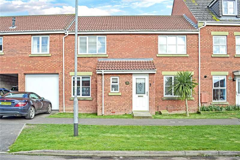 3 Bedrooms Terraced House for sale in Countess Avenue, Bridgwater, Somerset, TA6