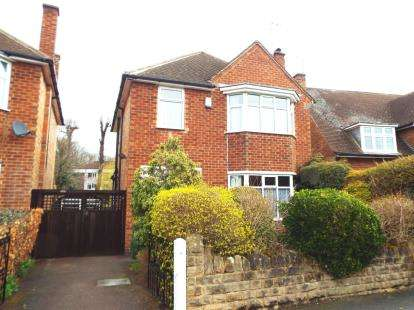 3 Bedrooms Detached House for sale in Russell Crescent, Wollaton, Nottingham, Nottinghamshire