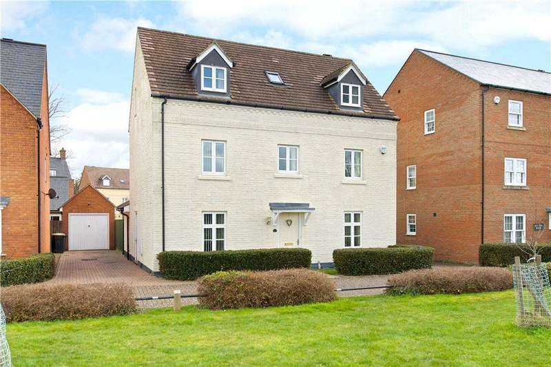 5 Bedrooms Detached House for sale in Saxon House End, Harrold, Bedfordshire