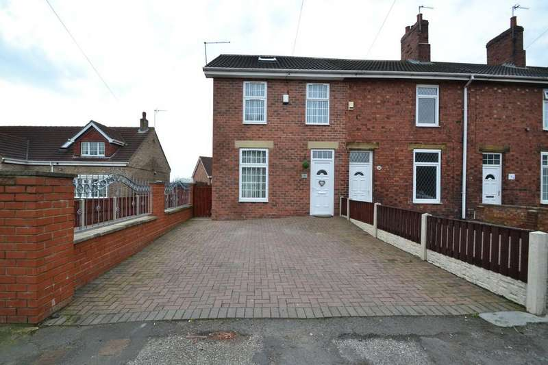3 Bedrooms End Of Terrace House for sale in Barnsley Road, South Kirkby