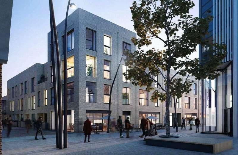2 Bedrooms Flat for sale in Battersea Exchange, Gladstone Terrace, London, SW8