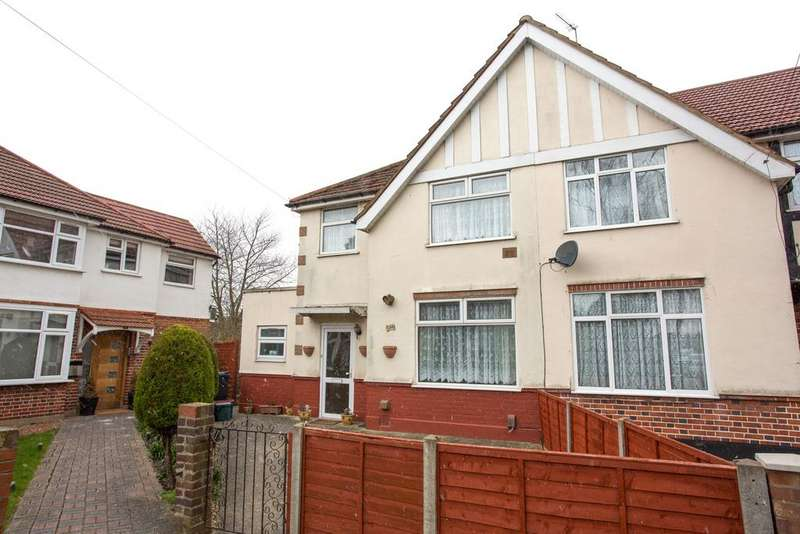 3 Bedrooms End Of Terrace House for sale in Oak Avenue , Hounslow TW5