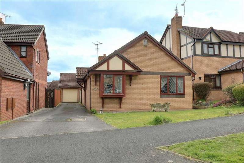 2 Bedrooms Detached Bungalow for sale in Fuller Drive, Crewe