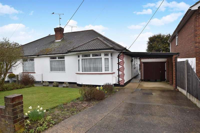 3 Bedrooms Semi Detached Bungalow for sale in Warwick Road, Rayleigh