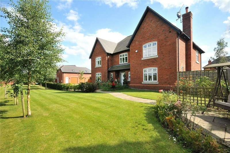 5 Bedrooms Detached House for sale in Meadowside, Smallwood, Sandbach, Cheshire, CW11