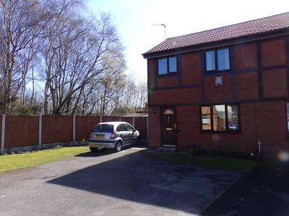 3 Bedrooms Semi Detached House for sale in Fernwood Drive, Halewood, Liverpool, Merseyside, L26