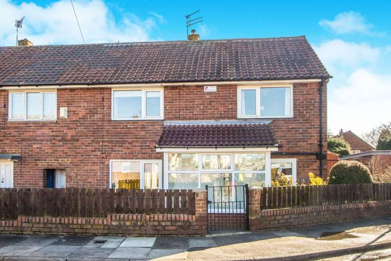 3 Bedrooms Semi Detached House for sale in Balmain Road, Newcastle upon Tyne, Tyne and Wear NE3 3QQ