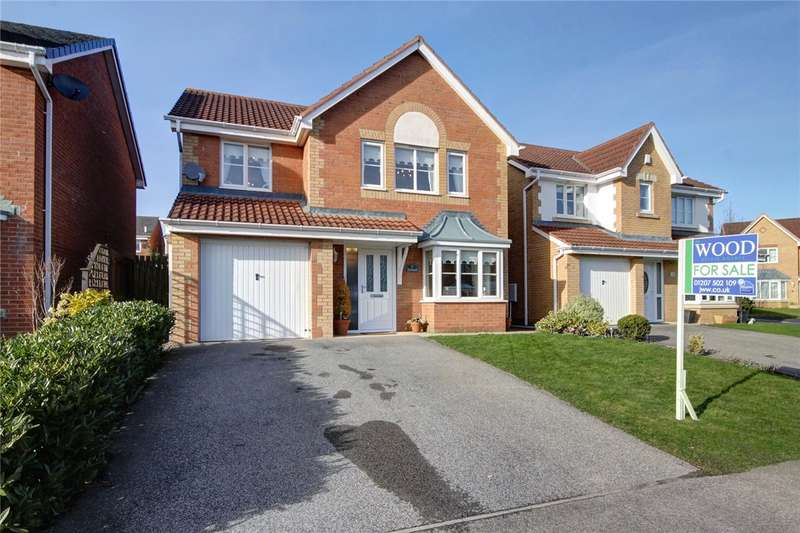 4 Bedrooms Detached House for sale in Holwick Close, Templetown, Consett, DH8