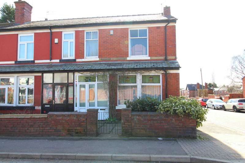 4 Bedrooms End Of Terrace House for sale in Bury Old Road, Prestwich