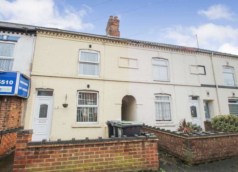 3 Bedrooms Terraced House for sale in Washbrook Road, Rushden