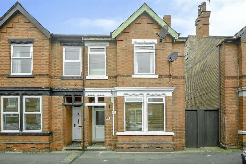 3 Bedrooms Semi Detached House for sale in Cranmer Street, Long Eaton