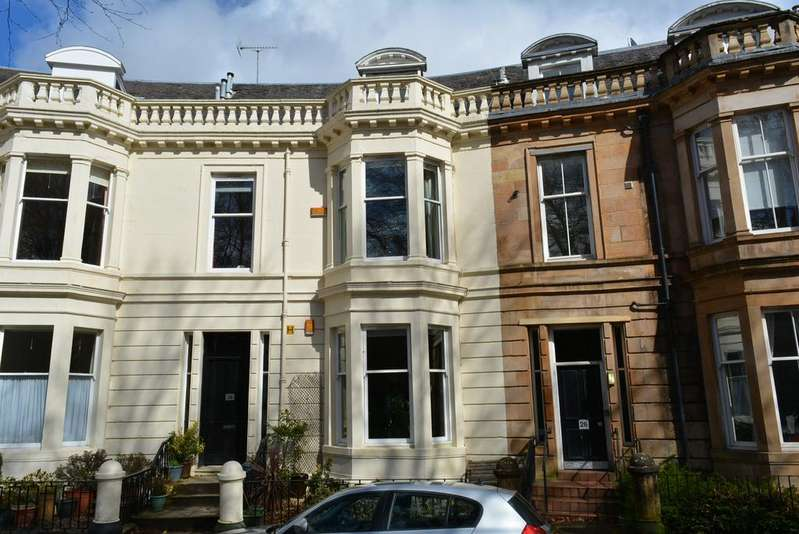 2 Bedrooms Flat for sale in 28 Burnbank Gardens, Kelvinbridge, GLASGOW, G20 6HD