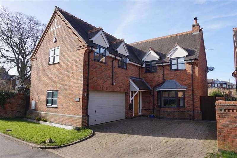 5 Bedrooms Detached House for sale in Mowsley