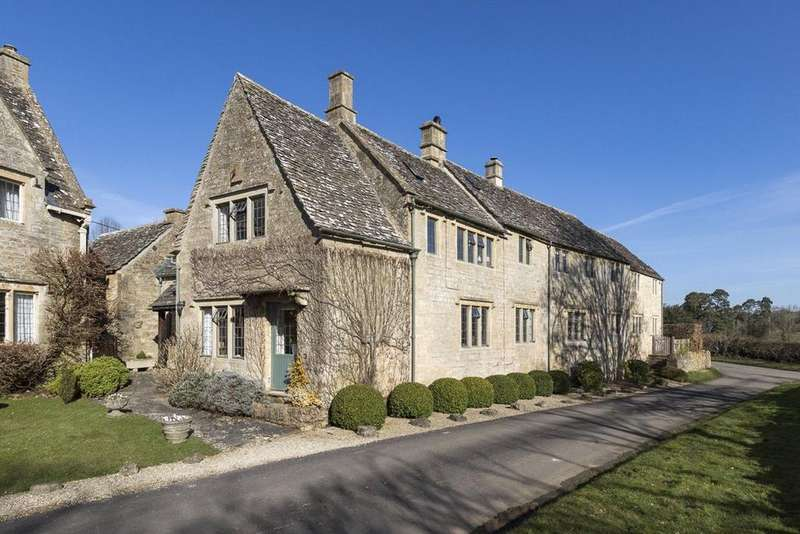 4 Bedrooms Semi Detached House for sale in Taynton, Burford, Oxfordshire, OX18