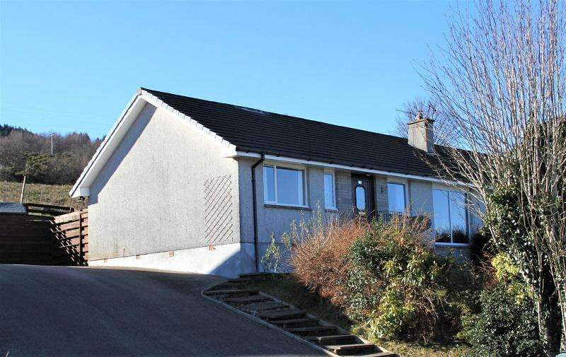 3 Bedrooms Semi Detached Bungalow for sale in Kilduskland Drive, Ardrishaig PA30