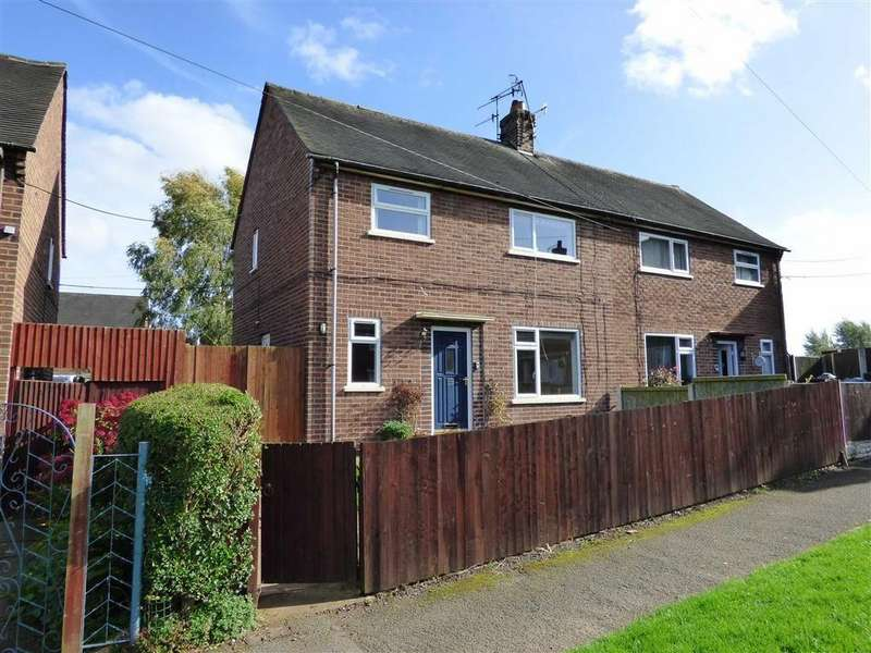 3 Bedrooms Semi Detached House for sale in Cotswold Avenue, Knutton, Newcastle-under-Lyme