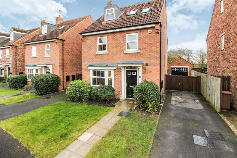 4 Bedrooms Detached House for sale in Mill Chase, Nafferton, Driffield