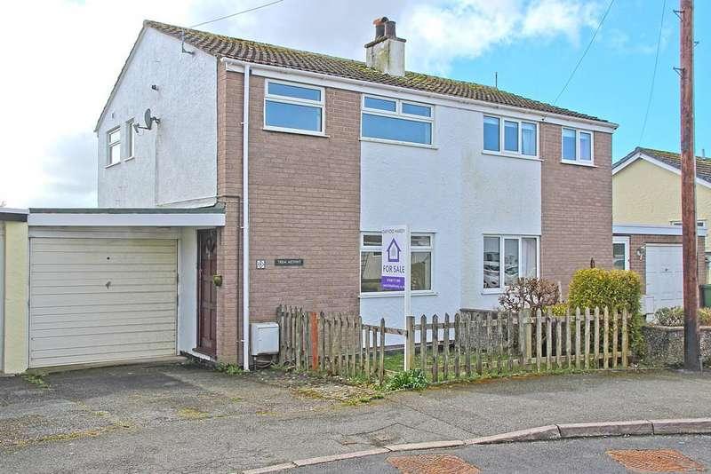 3 Bedrooms Semi Detached House for sale in Cil Y Graig, Menai Bridge, North Wales