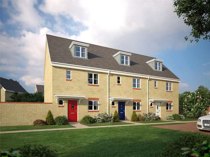 4 Bedrooms Terraced House for sale in Plot 8, Brybank, Haverhill, Suffolk, CB9