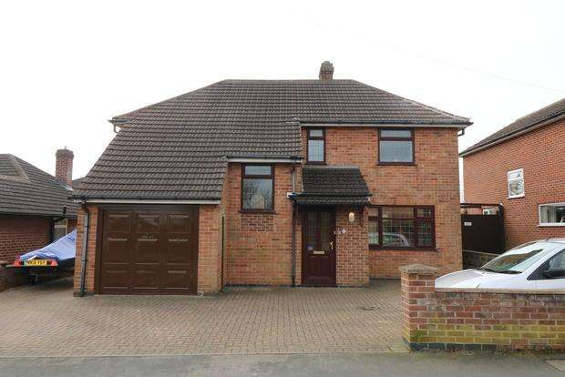 4 Bedrooms Detached House for sale in Highfield Avenue, Melton Mowbray, LE13