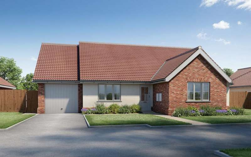 3 Bedrooms Detached Bungalow for sale in Plot 3 Warren Meadows