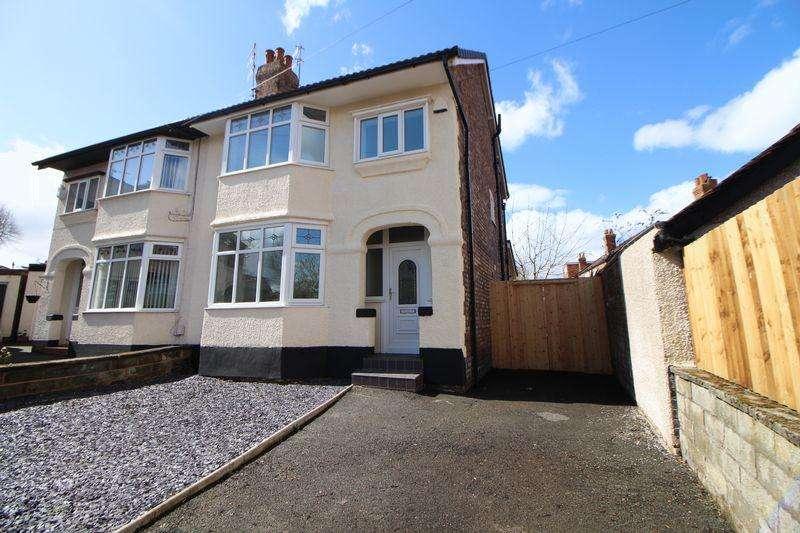 4 Bedrooms Semi Detached House for sale in Woodfield Avenue, Higher Bebington