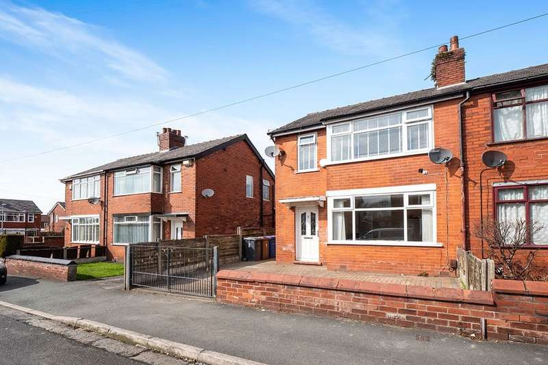 3 Bedrooms Semi Detached House for sale in Lawn Drive, MANCHESTER, M27